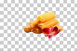 Spring Roll Custard Hot Pot French Fries Junk Food PNG