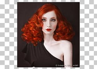 Red Hair Blond Hair Coloring PNG