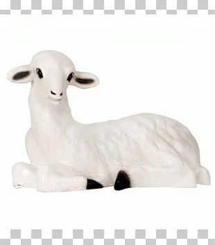 Sheep Cattle Goat Figurine PNG