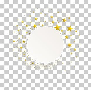 White Rectangle Gold PNG