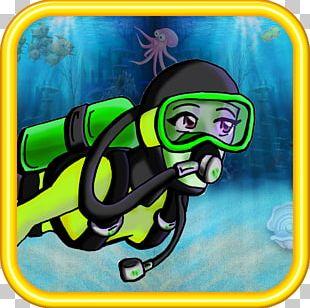 Personal Protective Equipment Cartoon Diving Equipment Font PNG