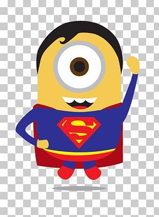 Superman Batman Iron Man Thor Minions PNG