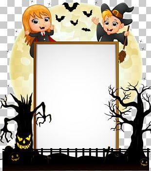 Halloween Costume Illustration PNG