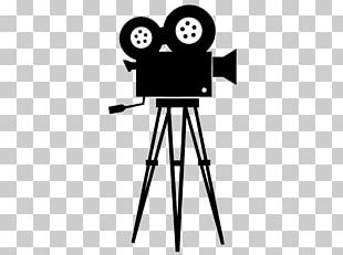 Movie Camera Photographic Film Cinema Silhouette PNG