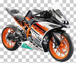 KTM 1190 RC8 Motorcycle Sport Bike KTM 390 Series PNG