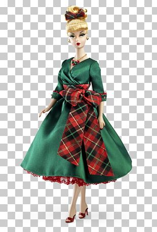 Barbie Doll Dress Holiday Collecting PNG