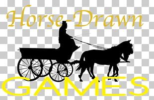 Horse And Buggy Carriage Silhouette Horse-drawn Vehicle PNG