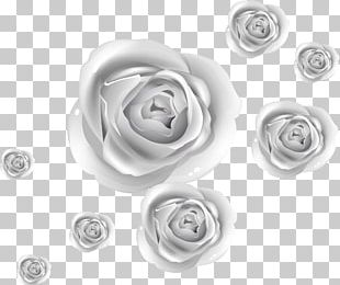 Rose Silver PNG