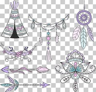 Boho-chic Bohemian Style Euclidean PNG