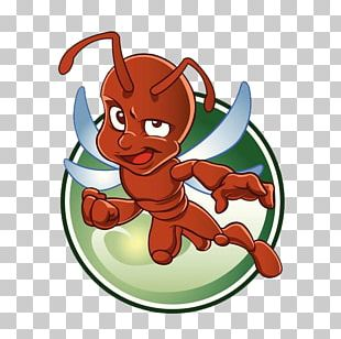 Ant Drawing Illustration PNG