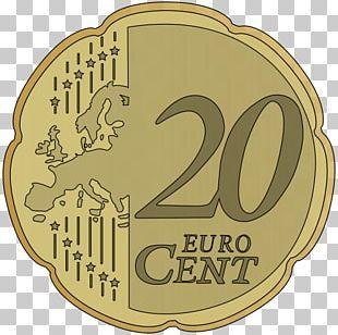 1 Cent Euro Coin 20 Cent Euro Coin Euro Coins PNG