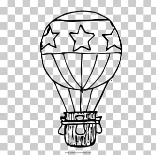 Hot Air Balloon Drawing Coloring Book Aerostat PNG