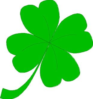 Ireland Saint Patricks Day Shamrock Four-leaf Clover PNG