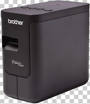 ピータッチ Label Printer Brother Industries Brother P-Touch PT-P750W PNG