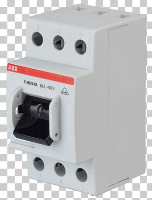 Circuit Breaker Electrical Switches Distribution Board Hauptschalter ABB Group PNG