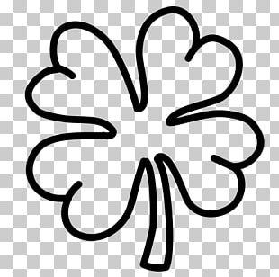 Republic Of Ireland Shamrock Four-leaf Clover Saint Patrick's Day PNG
