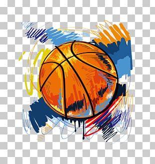 T-shirt Basketball Graffiti Illustration PNG
