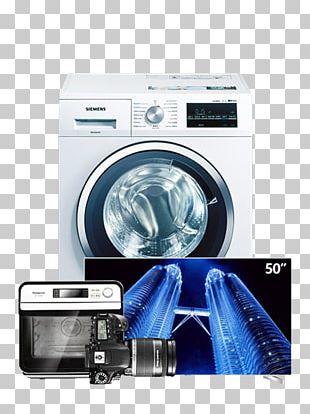 Washing Machine Blue Science PNG