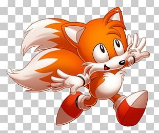 Sonic The Hedgehog 3 Tails Fan Art Drawing PNG