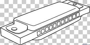 Harmonica Drawing Musical Instruments Line Art PNG