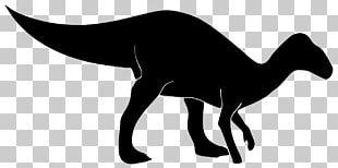 Tyrannosaurus Ornithopod Dinosaur Silhouette PNG