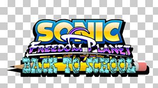 Freedom Planet Tails Logo Sonic The Hedgehog PNG