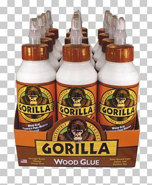 Gorilla Glue Wood Glue PNG