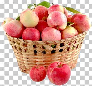 Apple Crisp Fruit Gift Basket PNG