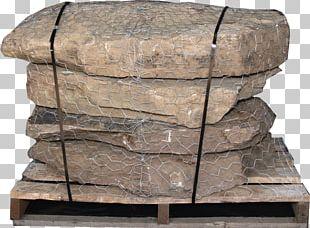 Stone Wall Granite Fieldstone Outcrop PNG