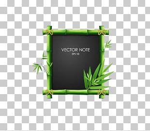 Blackboard Bamboo PNG