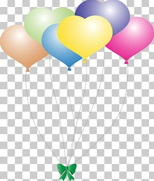 Balloon Girl Heart Hot Air Balloon PNG