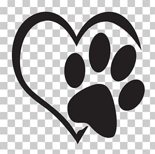 Dog Paper Cat Paw Decal PNG