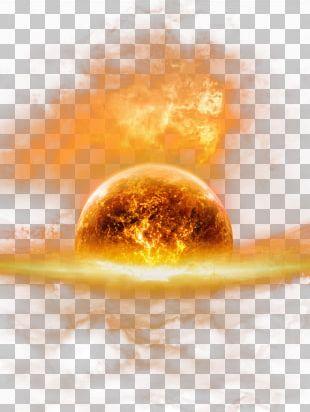 Earth Fire HD PNG