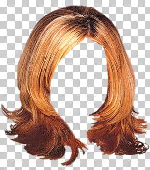 Brown Hair Hair Coloring Wig Long Hair Hairstyle PNG