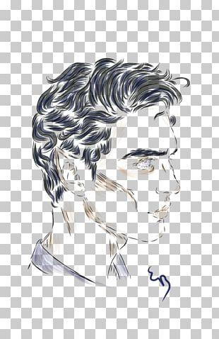 Forehead Illustration Sketch Eyebrow Ear PNG