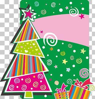 Christmas Tree Wedding Invitation Santa Claus PNG