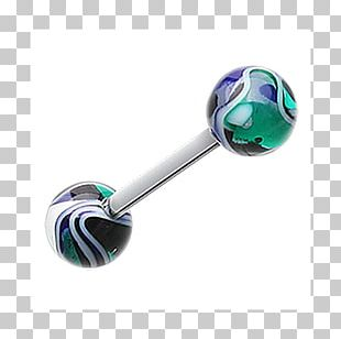 Tongue Piercing Body Piercing Barbell Body Jewellery PNG