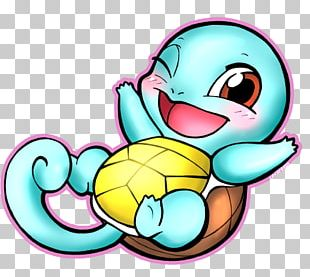 Squirtle Pokémon Fan Art Drawing PNG