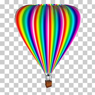 Flight Hot Air Balloon Atmosphere Of Earth Party PNG