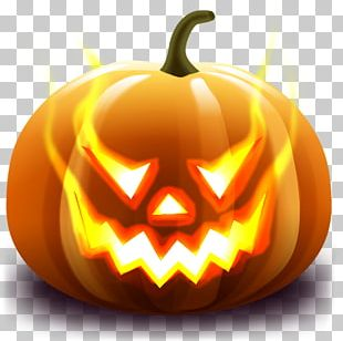 Halloween Emoticon Jack-o'-lantern Icon PNG