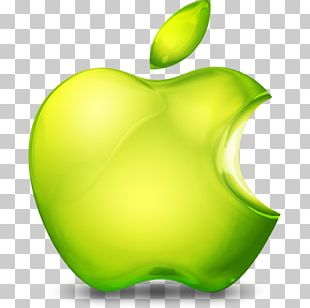 Apple Logo Orange PNG