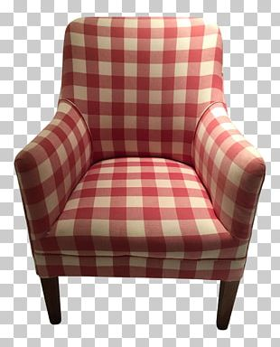 Club Chair Slipcover Foot Rests Swivel Chair PNG