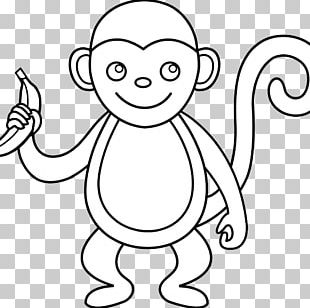 Drawing Monkey Graphics PNG