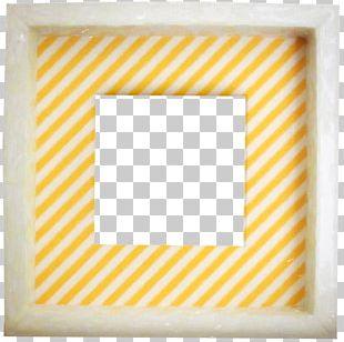 Orange Frame Pattern PNG