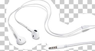 Microphone Headphones Apple Earbuds Phone Connector PNG