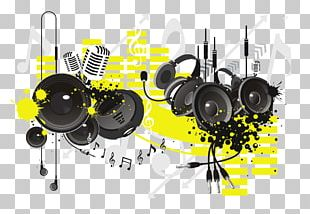 Microphone Headphones Sound Audio PNG