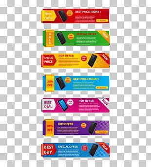 Web Banner Sales Promotion Euclidean PNG