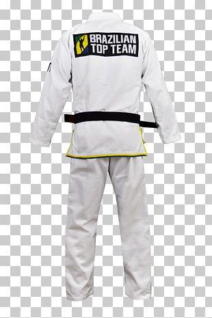 Dobok Brazilian Top Team Brazilian Jiu-jitsu Gi Uniform PNG
