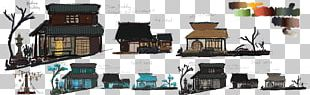 Concept Art Japanese Architecture Japanese Art PNG