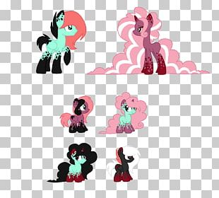 Horse Mammal Pink M Character PNG